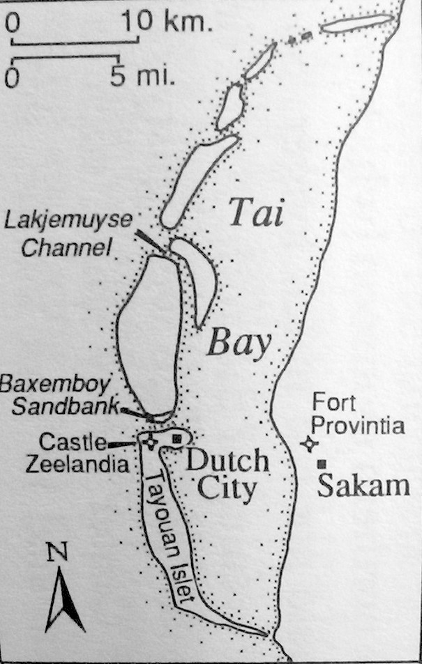 Map of the Terrace Bay