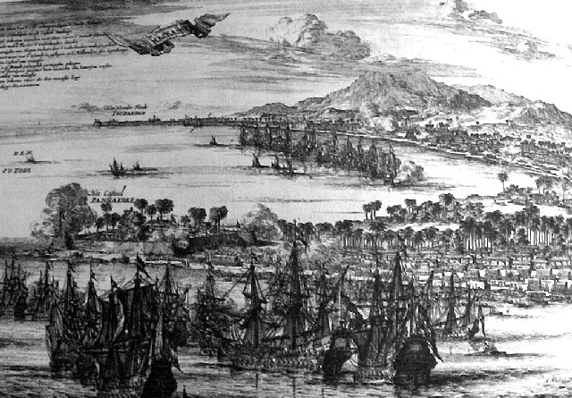 The attack on Makassar
